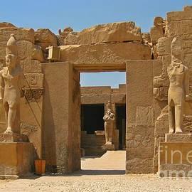 John Malone - Gateway to Egyptian Ruins