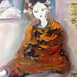 Judith Desrosiers - Geisha in a blanket