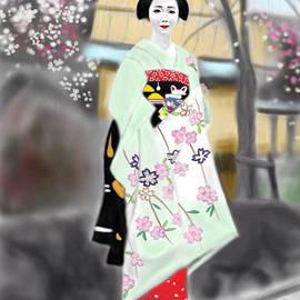 Yoshiyuki Uchida - Geisha No.187