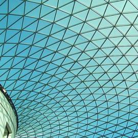 Rumyana Whitcher - Geometrical Glass Roof of The British Museum in London