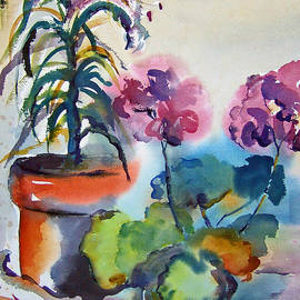 BJ Pinkston - Geranium and Lilies