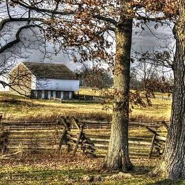 Michael Mazaika - Gettysburg at Rest - Winter Edward Mc Pherson Farm