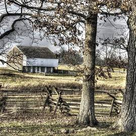 Michael Mazaika - Gettysburg at Rest - Winter Muted Edward Mc Pherson Farm
