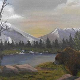 Sheri Keith - Ghost Bear-the Cascade Grizzly