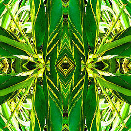 Sharon Cummings - Ginger Goddess - Abstract Art By Sharon Cummings