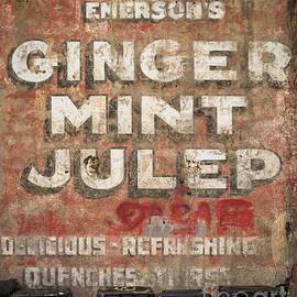 Kathleen K Parker - Ginger Mint Julep Wall - NOLA