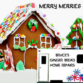 Gingerbread House Xmas Card 2