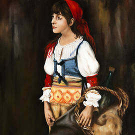 ILONA ANITA TIGGES - GOETZE  ART and Photography  - Gipsy Girl