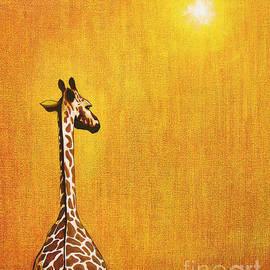 Jerome Stumphauzer - Giraffe Looking Back
