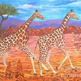 Caroline Street - Giraffe