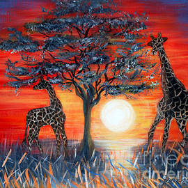 Oksana Semenchenko - Giraffes. Inspirations Collection.