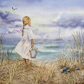 Irina Sztukowski - Girl And The Ocean A Special Order for Art Collector