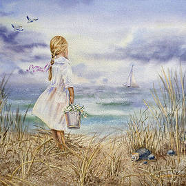 Irina Sztukowski - Girl At The Ocean