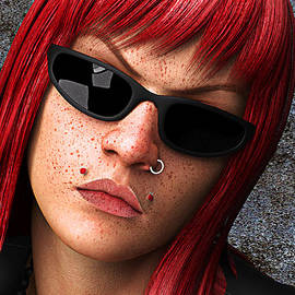 Stefan Bongaerts - Girl Closeup