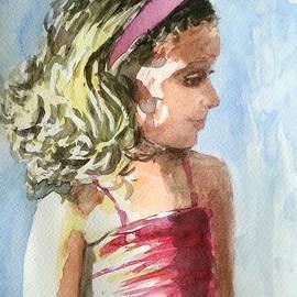 Uma Krishnamoorthy - Girl in pink