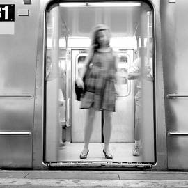 Dave Beckerman - Girl in Subway Door