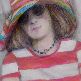 Cecily Mitchell - Girl in Sun Hat