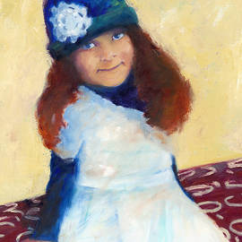 Beverly Shaw-starkovich - Girl in the Blue Hat