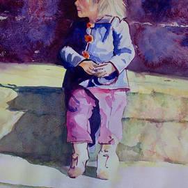 Janet Felts - Girl in the Blue Jacket