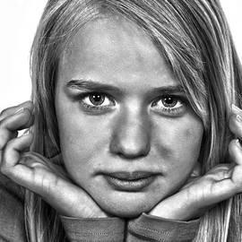 Jean Schweitzer - Girl Portrait