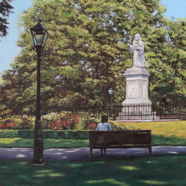 Martin Davey - Girl Waiting at Southampton Watts Park