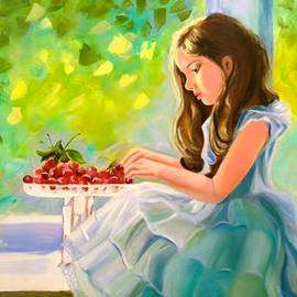 Marina Wirtz - Girl With Cherries