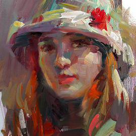 Tony Song - Girl with hat