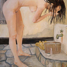 Alan Lakin - Girl with the Golden Towel