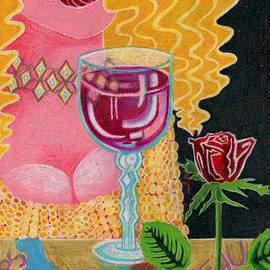 Genevieve Esson - Girl With Wine Glass
