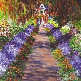 Carol Wisniewski - Giverny Gardens Pathway after Monet