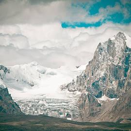 Raimond Klavins - Glacier in Himalaya Range