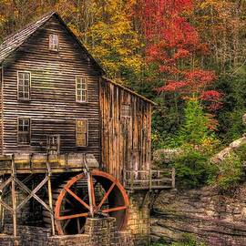 Michael Mazaika - Glade Creek Grist Mill-1A Babcock State Park WV Autumn Late Afternoon