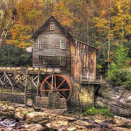 Michael Mazaika - Glade Creek Grist Mill-3A Babcock State Park WV Autumn Late Afternoon