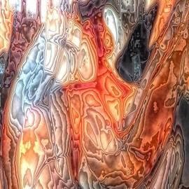Newel Hunter - Glass Abstract 4