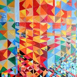 Chris Irwin Walker - Glass Ceiling Geometry