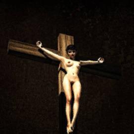 Ramon Martinez - Glass crucifix