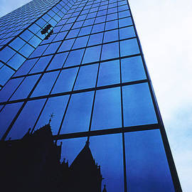 Thomas D McManus - Glass-Lots Of Glass-Reflections-John Hancock Bldg-Boston