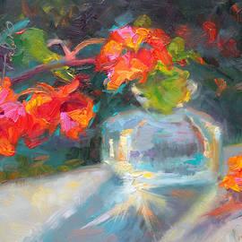 Talya Johnson - Gleaning Light Nasturtium Still Life