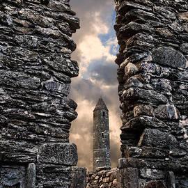 Derek Smyth - Glendalough Round Tower