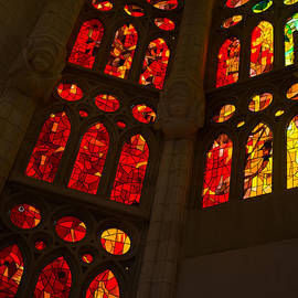 Georgia Mizuleva - Glorious Reds and Yellows - Sagrada Familia Stained Glass Windows