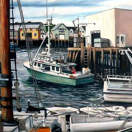 Eileen Patten Oliver - Gloucester Waterfront