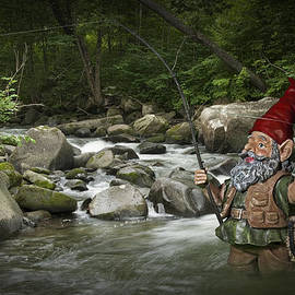 Randall Nyhof - Gnome Fishing on a Wilderness Trout Stream