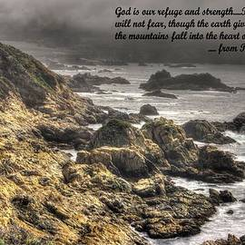 Michael Mazaika - God - Our Refuge and Strength Though the Mountains Fall Into the Sea - from Psalm 46.1-2 - Big Sur