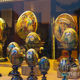 Rene Triay Photography - Goebel Hand Painted Art Egg Collection