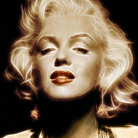 - BaluX - - Gold Marilyn Monroe
