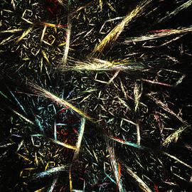 Giada Rossi - Gold waste - abstract art by RGiada
