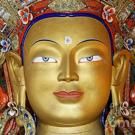 Robert Preston - Golden Buddha Statue Ladakh