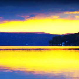 Paul Ge - Golden Cayuga Lake Ithaca New York