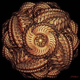 Michael Durst - Golden Celtic Mandala