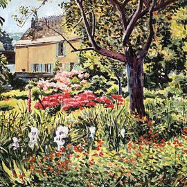 David Lloyd Glover - Golden French Country Garden